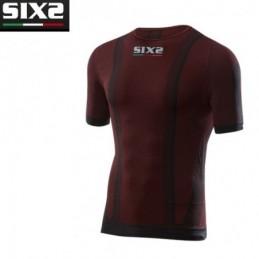 T-shirt mc DARK RED L SIXS...