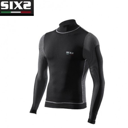 Lupetto ml WindShell BLACK CARBON L SIXS UNDERWEAR