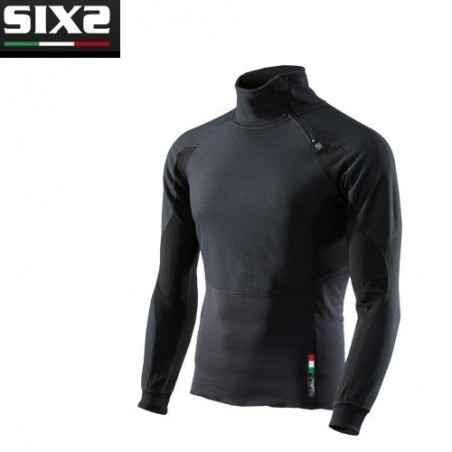 Giacca wind stopper ALL BLACK M SIXS WINTER TOURISM